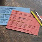 180ligné Index, cartes Heavyweight cartonné, Flash Cartes de visite, cartes postales, 7,6x 12,7cm, couleurs assorties de la marque Winterworm image 1 produit