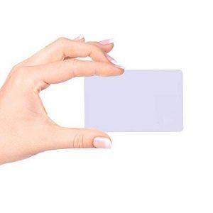 20 x Ntag / nfc 213 Carte RFID avec carte de crédit Taille standard conforme au protocole ISO 14443 pour paiements sécurisés, cartes de visite de la marque fongwah image 0 produit