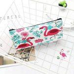 3 Pcs Simple Floral Trousse Scolaire Trousse à Crayon en Tissu pour Femme College Fille Ado de la marque Haifly image 2 produit