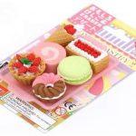 6 gommes Iwako en caoutchouc, gâteau, dessert, beignet de la marque Iwako image 2 produit
