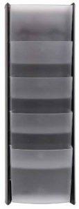 Alba DDPROMM N Présentoir Mural 5 Cases Format A5 5 Compartiments Noir de la marque Alba image 0 produit
