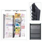 Alba DDPROMM N Présentoir Mural 5 Cases Format A5 5 Compartiments Noir de la marque Alba image 3 produit