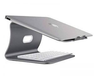 Bestand Support de radiateur pour Ordinateur Portable Exquisite Aluminium Compatible avec Apple Macbook et Tous Les Ordinateurs Portables, Gris(Breveté) de la marque Bestand image 0 produit