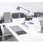 Bigso Box of Sweden 934145541 Boîte de Rangement Format A3 Panneau de Fibre Blanc 31 x 43,5 x 8,5 cm de la marque Bigso Box of Sweden image 2 produit