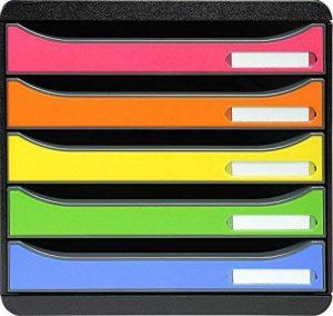 boîte de rangement 5 tiroirs plastique TOP 2 image 0 produit