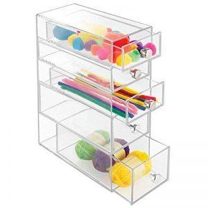 boîte de rangement 5 tiroirs plastique TOP 5 image 0 produit