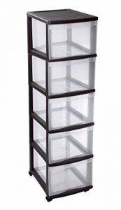 boîte de rangement 5 tiroirs plastique TOP 6 image 0 produit