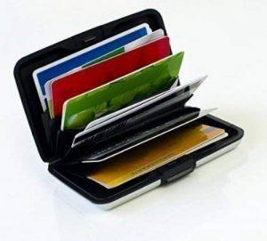 Boîte pour cartes de crédit Etui à Cartes de Maxbox, EC Boîte de cartes, boîte de cartes, en aluminium RFID, carte de crédit étui Boîte en aluminium pour stocker vos cartes argent de la marque MaxBox image 0 produit