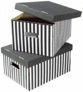 boîte rangement carton TOP 1 image 0 produit