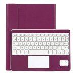 Clavier AZERTY Bluetooth 3.0 Étui Housse pour tout système Windows Android Tablette PC 9.0-10.6 pouces Touchpad tactile de la marque CoastaCloud image 1 produit