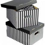 Compactor Home RAN613 Lot de 2 Boîtes Shirt Noir de la marque Compactor Home image 1 produit