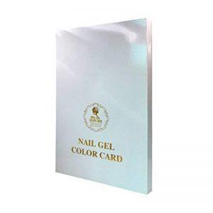 Écran couleur de la haute Nail Gel Tips Nail Art Salon Porte-cartes de visite pour 120/216/308Couleurs de la marque LA HAUTE image 0 produit