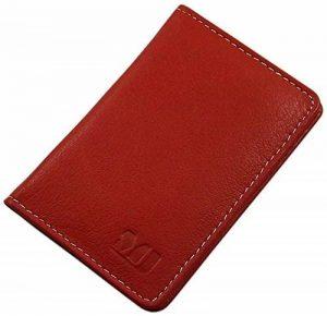 Cuir de buffle porte cartes de crédit MJ-Design-Germany en 3 différentes couleurs de la marque myledershop image 0 produit