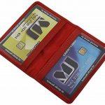 Cuir de buffle porte cartes de crédit MJ-Design-Germany en 3 différentes couleurs de la marque myledershop image 2 produit