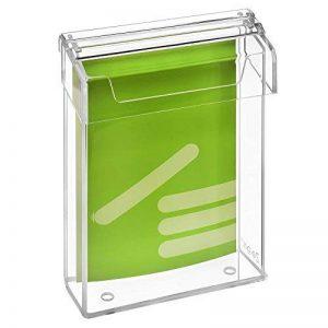 DIN a5 prospektbox haut résistant aux intempéries avec couvercle en verre acrylique-zeigis ® de la marque Zeigis® image 0 produit
