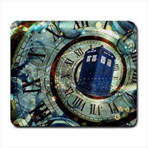 Doctor Who Tardis Doctor Who Mice Custom Design Cool Gaming mousepd Mouse Pad Mat 12by azlure de la marque azlure image 0 produit
