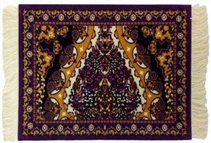 Ducomi DamasqueTapis de souris antidérapant en tissu avec dessin oriental élégant et franges raffinées Taiwan de la marque Ducomi image 0 produit