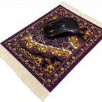 Ducomi DamasqueTapis de souris antidérapant en tissu avec dessin oriental élégant et franges raffinées Taiwan de la marque Ducomi image 1 produit