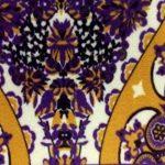 Ducomi DamasqueTapis de souris antidérapant en tissu avec dessin oriental élégant et franges raffinées Taiwan de la marque Ducomi image 4 produit