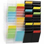 Durable 1709763 Flexiboxx Présentoir Mural 12 Cases Format A4 Portrait Coloris Transparent de la marque Durable image 1 produit