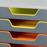 Durable 761027 Varicolor Module de Classement 10 Tiroirs de la marque Durable image 2 produit