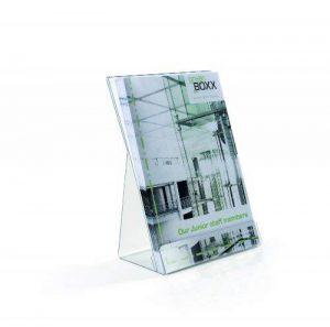 Durable 859519 Présentoir de Table Mixte Porte - Affiche Porte - Documents Format A5 Incliné Transparent Lot de 2 de la marque Durable image 0 produit