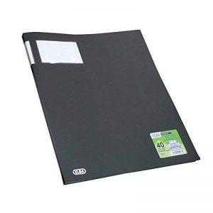 Elba - 100206260 - Protège-Documents Stand'Up 40 Vues Parfait Maintien à la Verticale Polypropylène Opaque A3 Noir de la marque Elba image 0 produit