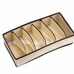Elite99 4 Pièces Boîtes de rangement Durable pliable tiroir range-placards pour Sous- Vètements/Culotte/Foulard/Lingerie/Soutien-Gorge/Chaussettes gain de place de la marque Elite99 image 3 produit