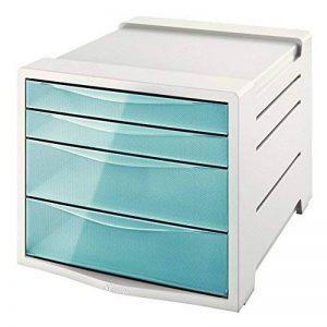 Esselte Bloc de Classement à 4 Tiroirs, Bleu, Colour'Ice, 626284 de la marque Esselte Group image 0 produit