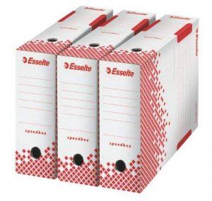 Esselte Speedbox - Lot de 25 Boites Archives Dos Automatiques 100mm - Blanc de la marque Esselte Group image 0 produit