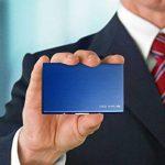 Étui Carte Bancaire Technologie RFID – Porte Carte de Visite Homme et Femme en Acier Inoxydable Brossé – Étui Sécurisé Carte Bleue Protection Fraude Bancaire et Vol d'Identité – Superbe Coffret Cadeau de la marque Steel Smart image 3 produit