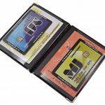 Exclusive pochette de carte d'identité et porte carte de crédit 4 compartiments MJ-Design-Germany Made in UE en diverses couleurs et designs de la marque myledershop image 2 produit