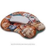 EXCO–3D Cartoon Tapis de souris ergonomique avec repose poignet en gel et rembourrage dog de la marque EXCO image 1 produit