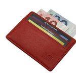 Extra plate et petit cuir porte cartes de crédit MJ-Design-Germany en 3 différentes couleurs de la marque myledershop image 1 produit