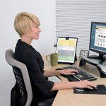 Fellowes 21106 Porte-copie chevalet avec guides-lignes de la marque Fellowes image 2 produit