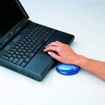 Fellowes 91177-72 Mini Repose-Poignet ergonomique Crystal Gel Bleu de la marque Fellowes image 1 produit