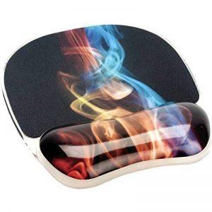 Fellowes 9204001 Tapis de souris avec repose-poignets ergonomique motif Fumée arc-en-ciel de la marque Fellowes image 0 produit