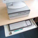 Fixe clavier coulissant de la marque General Office image 1 produit