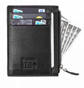 flintronic Portefeuille En Cuir, Etui RFID Blocage Porte Carte de Crédit, Porte-monnaie de la marque flintronic image 0 produit