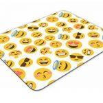 Funky emoji visages Tapis de souris Pad–Smiley Face enfants adolescents Cadeau PC Computer # 8401 de la marque Destination Vinyl Ltd image 2 produit