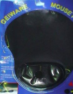 Geiware Tapis de souris ergonomique contre TENDINITE du poignet (le poignet a droit au souris) Prévient la formation de syndrome canal carpien Allieva et la douleur du poignet Coude Si existant de la marque prodigital image 0 produit