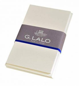 Georges Lalo 25616L Lot de 10 Ensembles cartes visite 300 g avec Enveloppe 14,50 x 9,50 x 1,50 cm Ivoire de la marque Georges Lalo image 0 produit