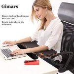 Gimars Kit de Repose-poignets pour Souris / Clavier Anti-dérapant Accessoires pour Ordinateur de la marque Gimars image 1 produit