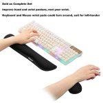 Gimars Kit de Repose-poignets pour Souris / Clavier Anti-dérapant Accessoires pour Ordinateur de la marque Gimars image 4 produit