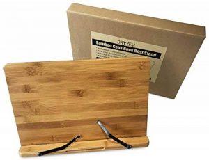 Grand Porte-Livre en Bois, Lutrin pour iPad tablette, livres de cuisine Solide Pliable et Léger de la marque DRYZEM image 0 produit
