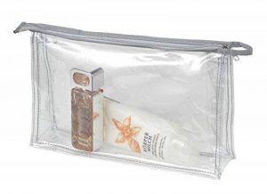 HALFAR - trousse de toilette maquillage pochette zippée transparente - 1800177 de la marque HALFAR image 0 produit