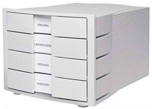 HAN 1010-X-11 Module de rangement Impuls 4 tiroirs fermés (Gris clair) (Import Allemagne) de la marque HAN image 0 produit