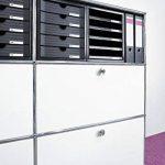 HAN 1450-13 Module de rangement 5 tiroirs fermés pour C4, 275 x 320 x 330 mm (Noir) (Import Allemagne) de la marque HAN image 2 produit
