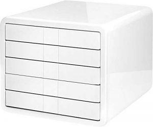 HAN 1551-12, module de classement i-Box de qualité premium, innovant et détenteur du prix Design. Comprend 5 tiroirs fermés, blanc de la marque HAN image 0 produit