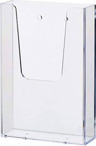 """'Helit H2350002""""The aider murale 11/3Support A6pour brochure clair, de la marque Helit image 0 produit"""